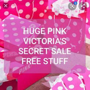 ➡️HUGE SALE PINK VICTORIA'S SECRET